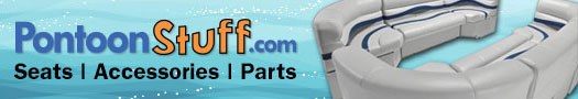 www.pontoonstuff.com - pontoon boat seats, furniture and accessories